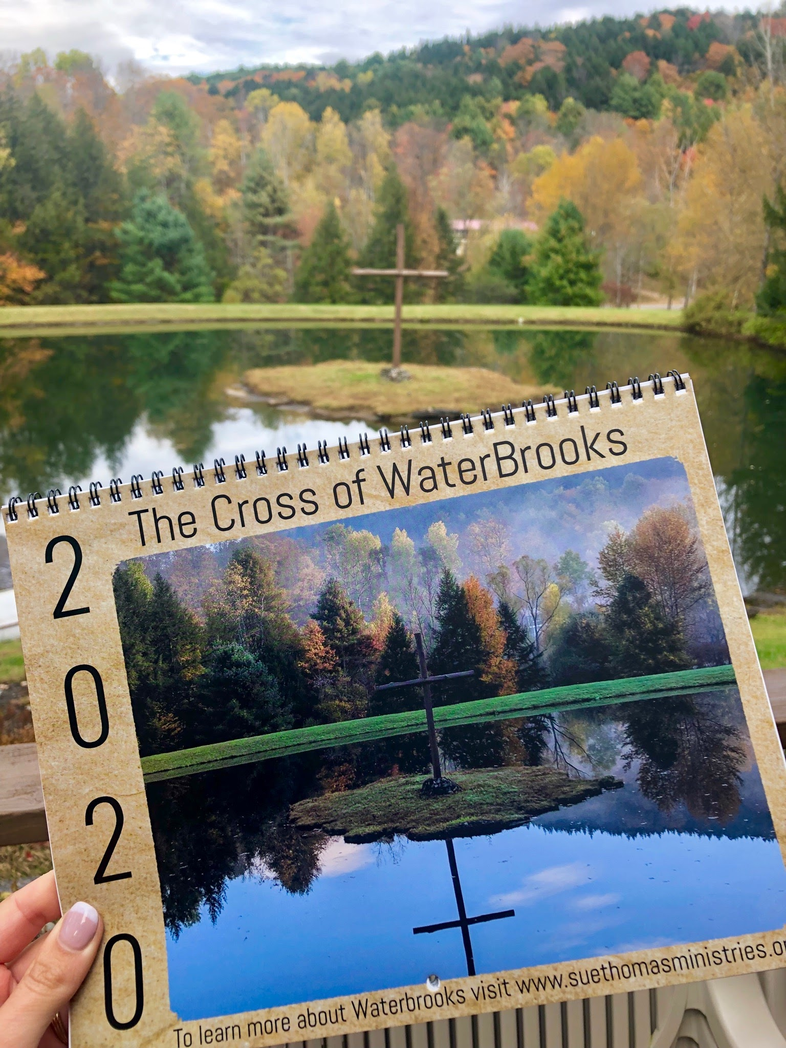 Our 2020 Calendar, the Cross of WaterBrooks