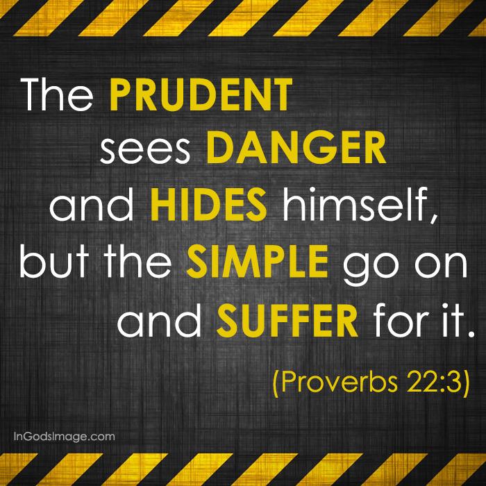 Proverbs-22.3